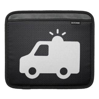 Emergency Ambulances Minimal iPad Sleeves