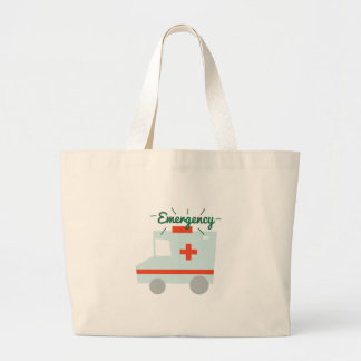 Emergency Jumbo Tote Bag
