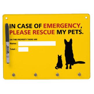 Emergency Board (dog & cat)