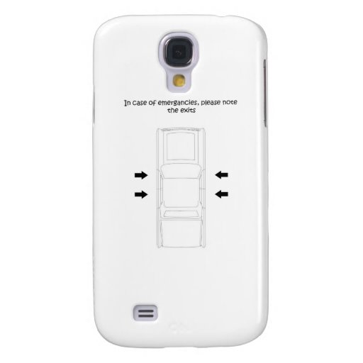 emergency car exit galaxy s4 cover
