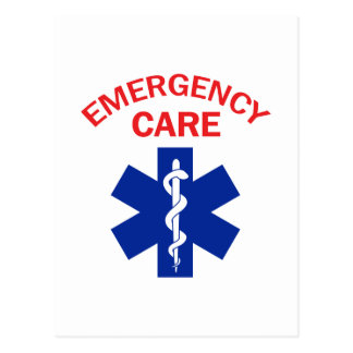 Emergency Care Postcard