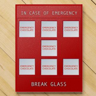 Emergency Chocolate Chocolate Countdown Calendars