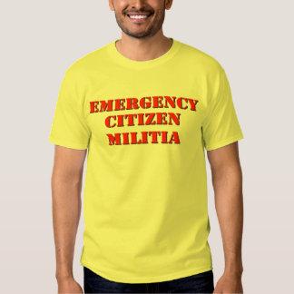 Emergency Citizen Militia T-Shirt