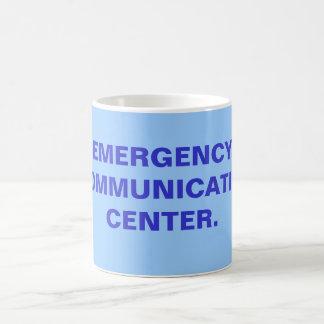 EMERGENCY COMMUNICATION CENTER. 11 OZ MAGIC HEAT Color-Changing COFFEE MUG