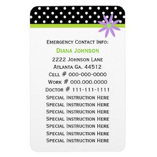 Emergency Contact: Babysitter Premium Magnet