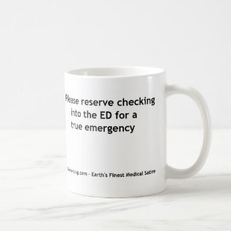 Emergency Department Triage Coffee Mug