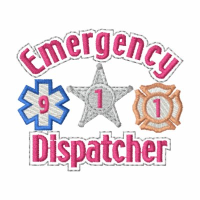 Emergency Dispatcher Embroidered Jackets