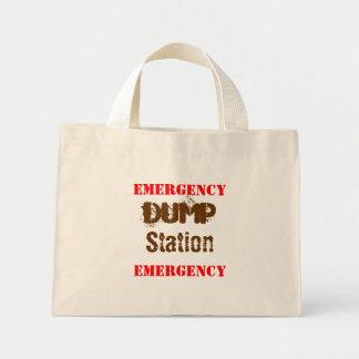 EMERGENCY, Dump, Station, EMERGENCY Mini Tote Bag