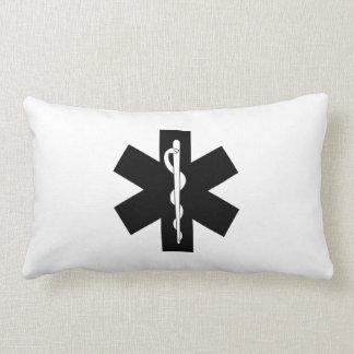 Emergency EMS Logo Lumbar Pillow