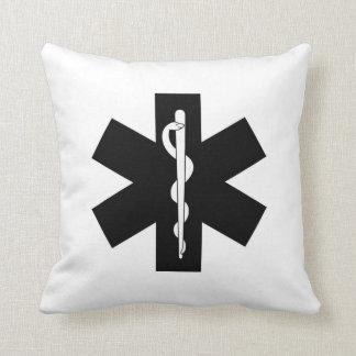 Emergency EMS Logo Throw Pillow