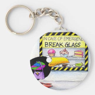 Emergency keychain