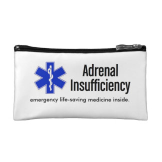 Emergency Kit Case: Life-Saving Steroids Makeup Bag