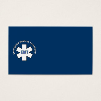 Emergency Med Tech Business Card