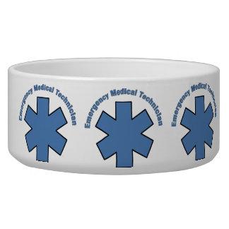 Emergency Med Tech Dog Food Bowl