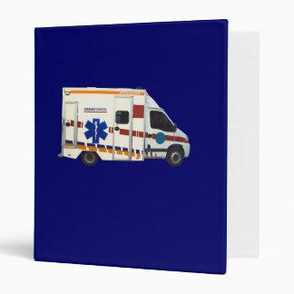 emergency medical 3 ring binder
