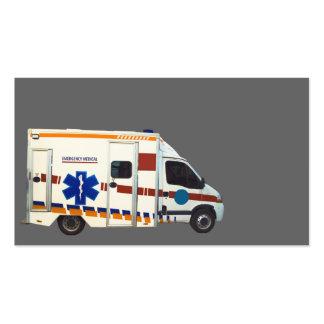 emergency medical business cards