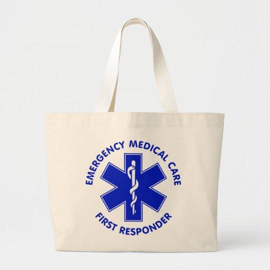 Emergency Medical Care First Responder Large Tote Bag
