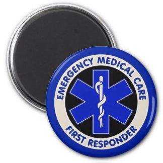 Emergency Medical Care First Responder Magnet