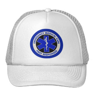Emergency Medical Care First Responder Trucker Hat