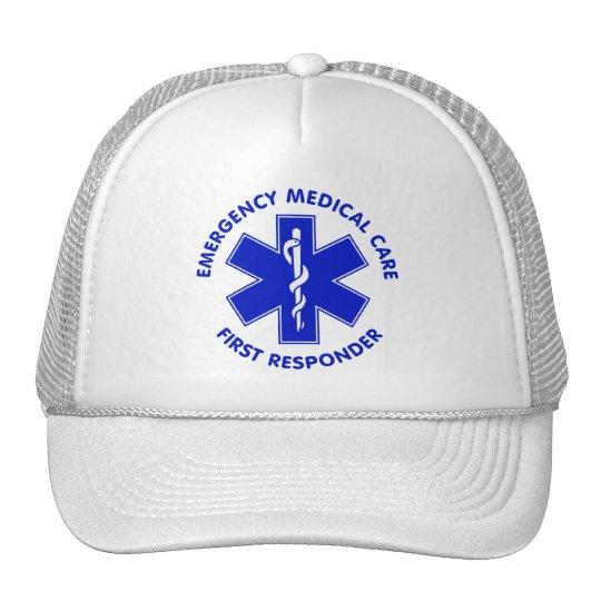 Emergency Medical Care First Responder Trucker Hat