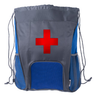 Emergency Medical First Aid Kit Drawstring Backpack