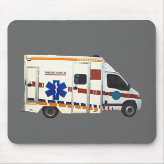 emergency medical mouse pad