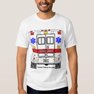 Emergency Medical Services Ambulance (EMS) T Shirt