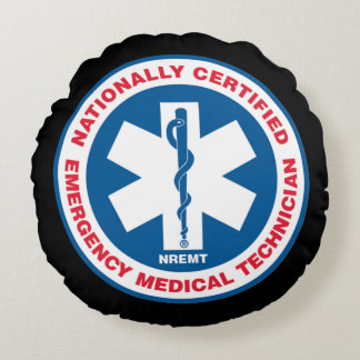 Emergency medical services round pillow