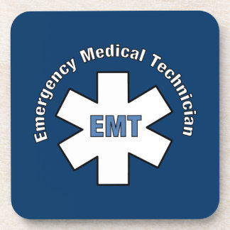 Emergency Medical Tech Beverage Coaster