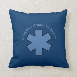 Emergency Medical Tech Throw Pillow