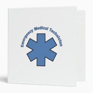Emergency Medical Technician 3 Ring Binder