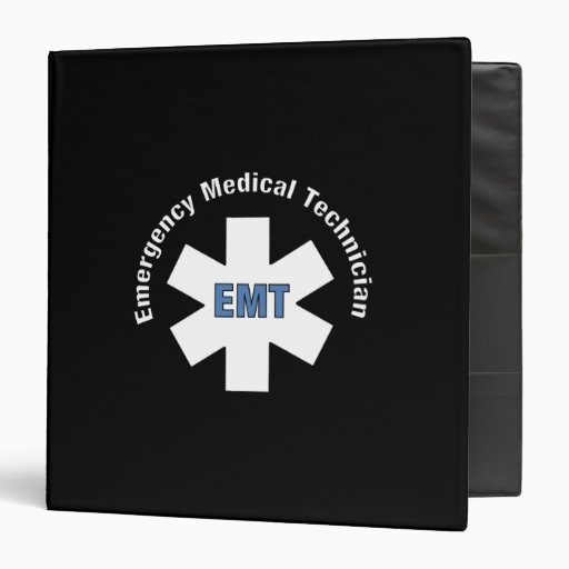 Emergency Medical Technician 3 Ring Binders