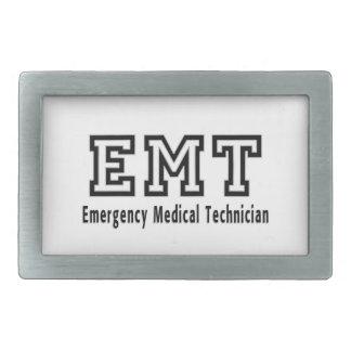 Emergency Medical Technician Belt Buckles