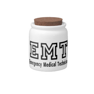 Emergency Medical Technician Candy Dishes