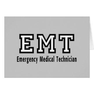 Emergency Medical Technician Card