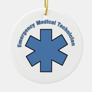Emergency Medical Technician Ceramic Ornament