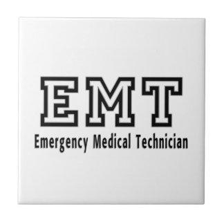 Emergency Medical Technician Ceramic Tile