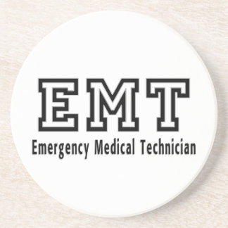 Emergency Medical Technician Beverage Coasters