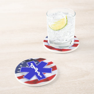 Emergency Medical Technician Drink Coasters