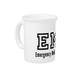 Emergency Medical Technician Drink Pitchers