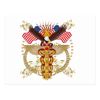 Emergency Medical Technician EMT-2R Postcard