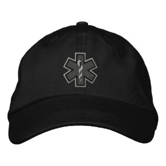 Emergency Medical Technician EMT Embroidery Embroidered Baseball Hat