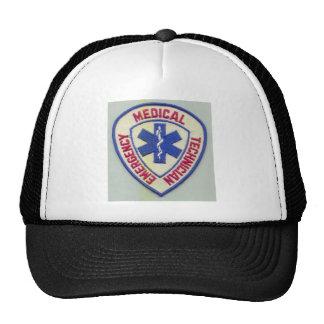 EMERGENCY MEDICAL TECHNICIAN EMT TRUCKER HAT