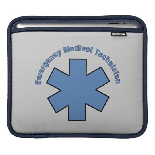 Emergency Medical Technician iPad Sleeve