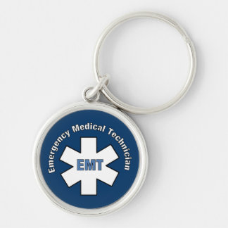 Emergency Medical Technician Keychain