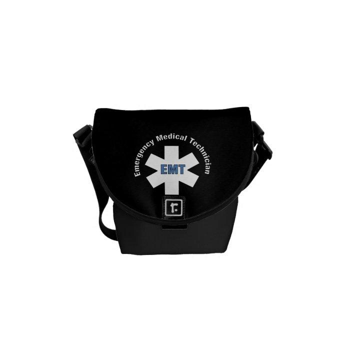 Emergency Medical Technician Messenger Bag