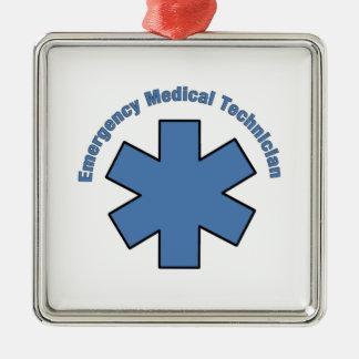 Emergency Medical Technician Metal Ornament