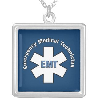 Emergency Medical Technician necklace