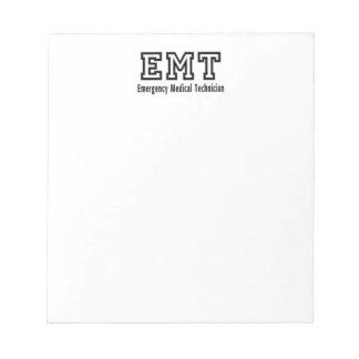 Emergency Medical Technician Notepad