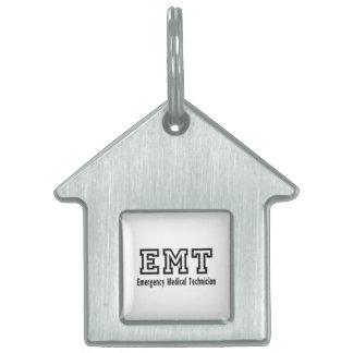 Emergency Medical Technician Pet ID Tag